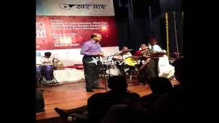 Aaj madhosh hua jaye re ... sung by Shailen Ambegaokar and Shobhana Subramanium ..140713