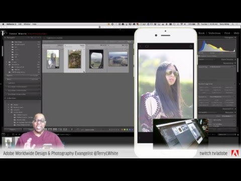 Adobe Mobile App Workflows - Terry White Live Ep23