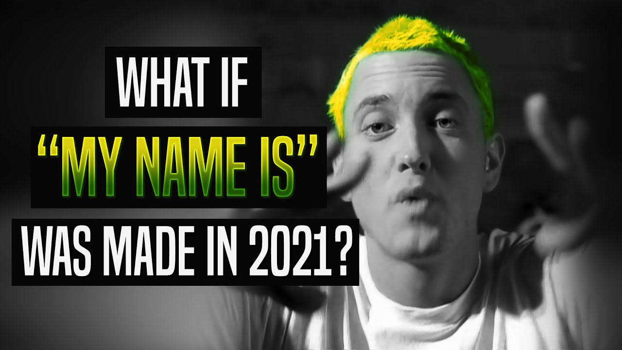 "[AI Voice] What if Eminem wrote ""My Name Is"" in 2021? 