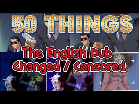 Yu-Gi-Oh: 50 THINGS the English Dub CHANGED/CENSORED