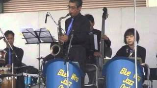 Strike Up the Band /blue wing jazz orchestra/2010富士重工ふれあい祭り