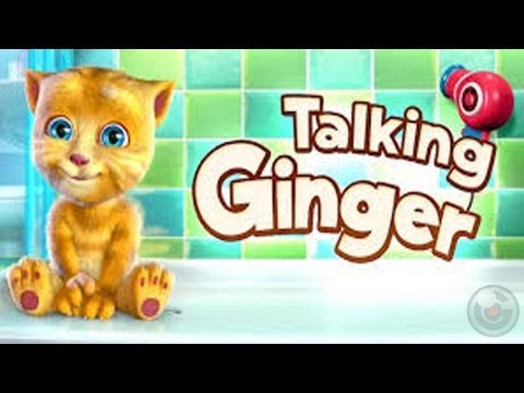 Talking Ginger - iPhone Gameplay Video