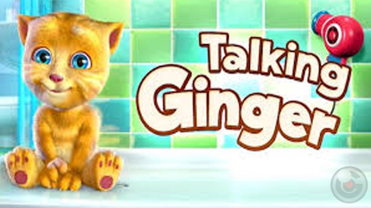 Talking Ginger - iPhone Gameplay Video