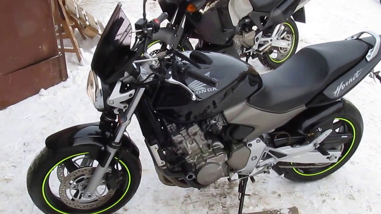 honda cb 600 hornet 2004 black youtube. Black Bedroom Furniture Sets. Home Design Ideas