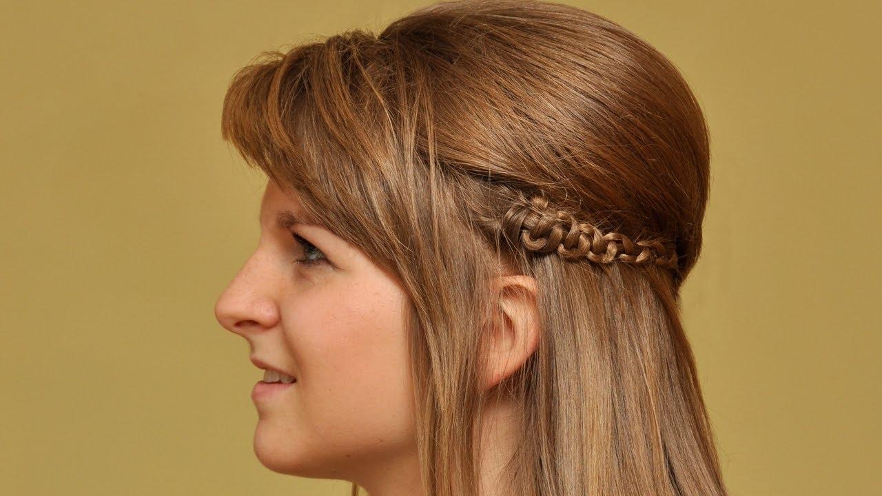simple braided hairstyles - snake