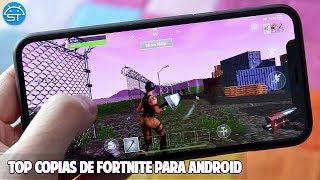 Las 10 Mejores Copias de Fortnite para Android 2018 *Top Juegos Android*