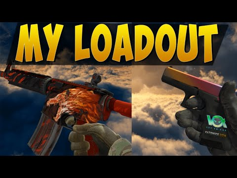My Loadout - CS:GO Showcase Skins M4A4 Howl, Fade, Tiger Tooth And More!