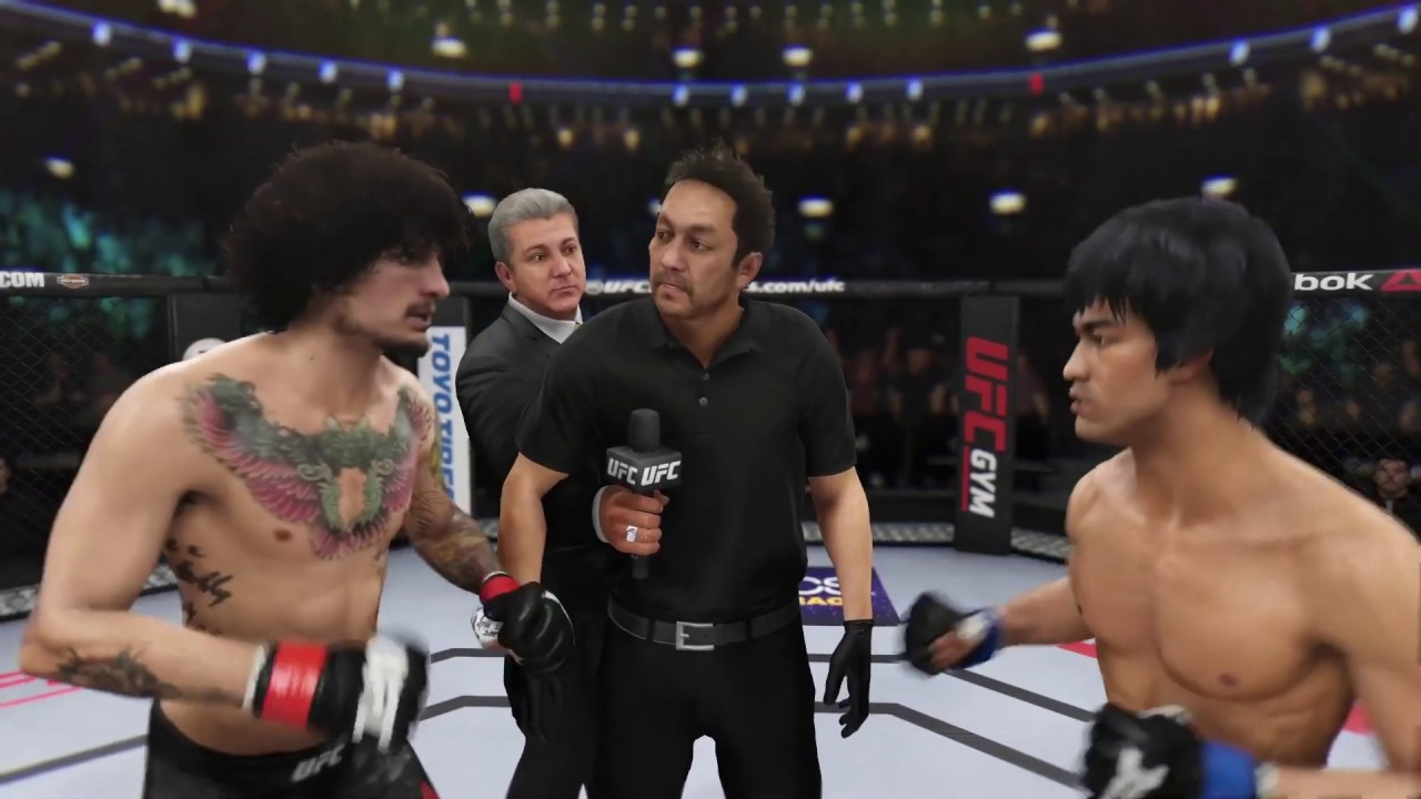 Sean O'Malley vs. Bruce Lee (EA sports UFC 3)
