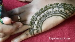 Unique Mehndi Design For Back Hands 2018 * Simple Latest Mehndi Designs * Beautiful New Henna