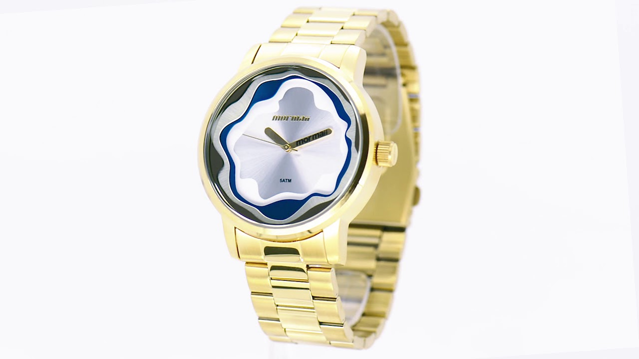 a1a588b895e Relógio Mormaii Feminino Sunset MO2035IW 4D - Eclock - YouTube