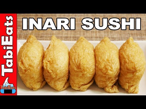 How to Make INARI SUSHI (Tofu Pouch Sushi Recipe) いなり寿司