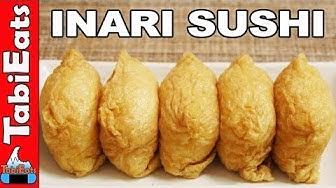 How to Make INARI SUSHI (Tofu Pouch Sushi Recipe) いなり寿司
