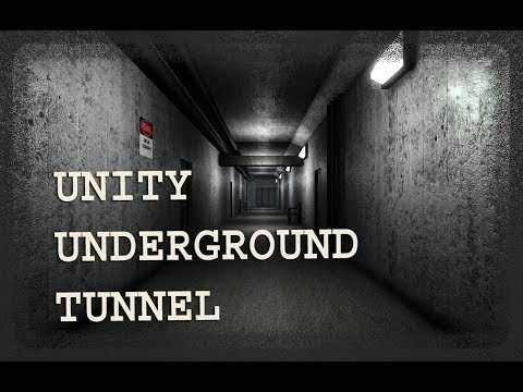 Unity+Sketchup Level Design: Underground Tunnel