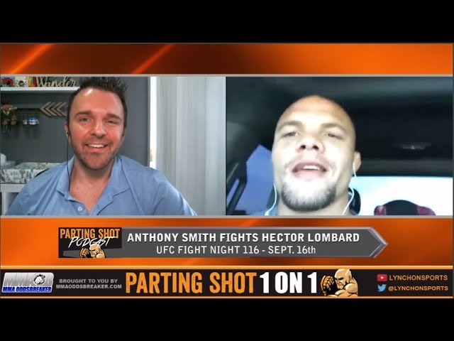 "UFN 116's Anthony Smith on Hector Lombard ""This is my chance to prove cheaters don't win"""