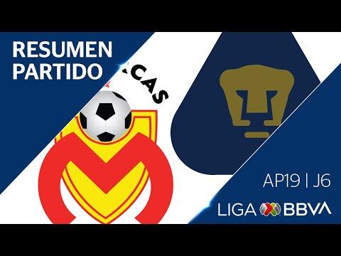Resumen y Goles | Morelia vs Pumas | Liga BBVA MX - Apertura 2019  - Jornada 6