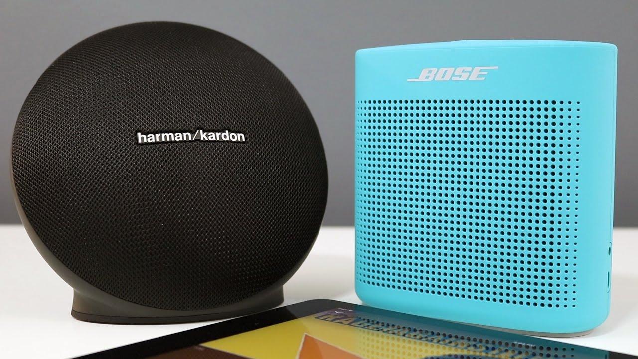 bose soundlink color 2 vs harman kardon onyx mini with. Black Bedroom Furniture Sets. Home Design Ideas