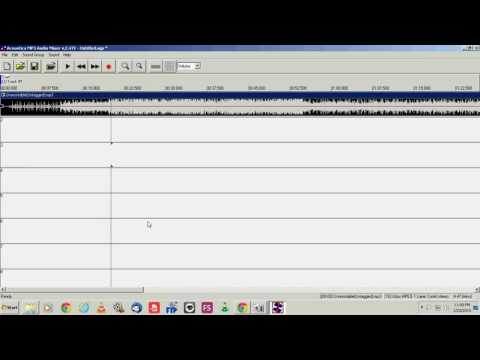 Best & Easiest Audio Editing/Recording Software 2017 - Acoustica MP3 Audio Mixer Tutorial