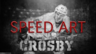 Sidney Crosby Wallpaper Speed Art (W/ Download)