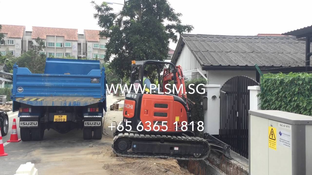 Hitachi ZX55U-5A Brand New Mini Hydraulic Excavator For Rental In Singapore  With LM Certificate