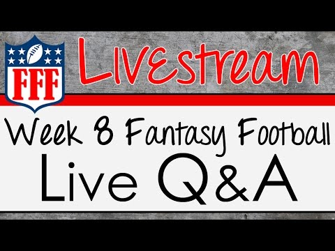 Week 8 Live Q & A Cancelled - 2015 Fantasy Football