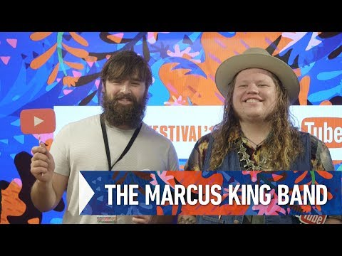 THE MARCUS KING BAND  FRF'17 DAY2 INTERVIEW