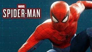 Spider-Man Ps4 - Battle Damaged Classic Suit Gameplay Showcase