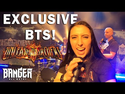 UNLEASH THE ARCHERS Abyss Virtual Album Release Concert TONIGHT!   BangerTV Behind the Scenes