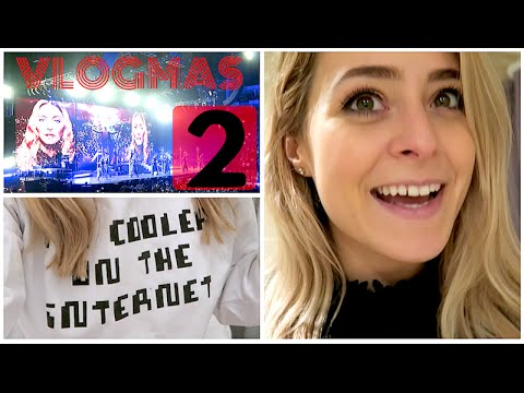 Book 2, MADONNA & Learning to RUN! Vlogmas 2