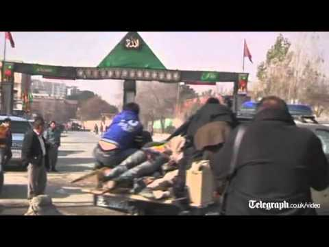 Afghanistan: Suicide bomber attacks Kabul shrine killing 30
