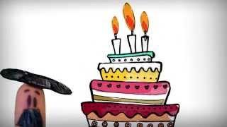Happy birthday song in Spanish, cumpleanos feliz!