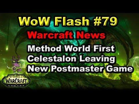 Method World First, Celestalon Leaving WoW | WoW Flash #79 Warcraft News