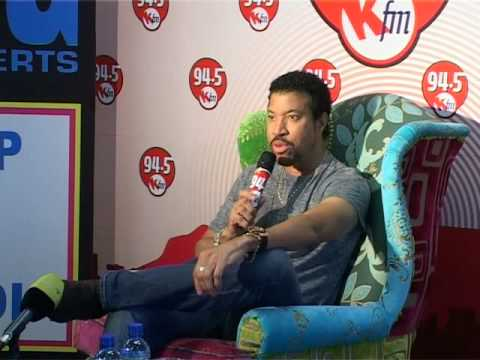 Lionel Richie at 94.5 Kfm in Cape Town