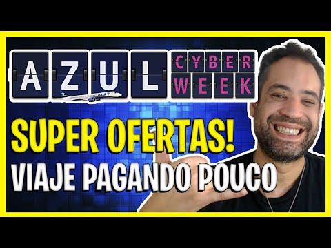 CYBER WEEK AZUL! SUPER OFERTAS DE PASSAGENS + PROMOÇÃO NO CLUBE AZUL!