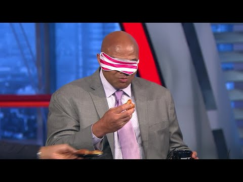 Inside the NBA: Chuck Tests His Donut Skills