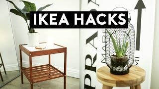 DIY IKEA HACKS | DIY ROOM DECOR! CHEAP & EASY