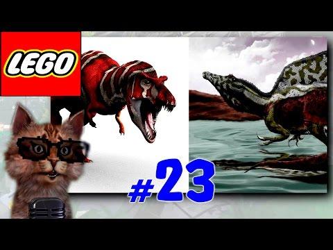 Lego Jurassic World.Динозавры прохождение.Игры Мультики про Динозавров.Мир Юрского Периода.#Лего