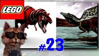 ЛЕГО мультик ИГРА про динозавров Мир юрского периода [23] Напали на след Бубликова