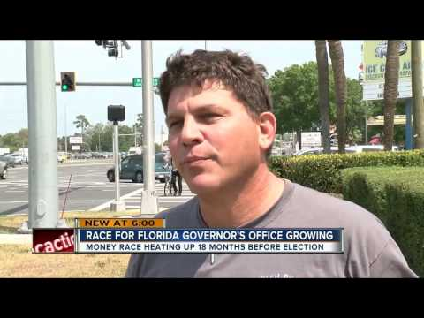 Race for Florida Governor