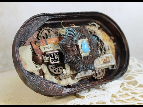 Altered Tins by Heather Thompson on Artist Live