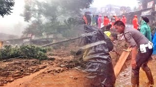 Hujan Deras Semalaman, Jalur Puncak Bogor Longsor dan Kali Ciliwung Meluap, Status Siaga 1