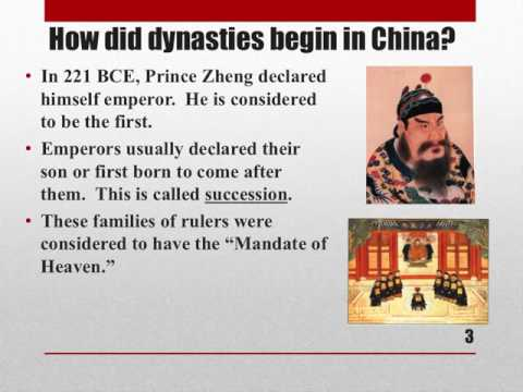 Government in Ancient China - Lesson 1