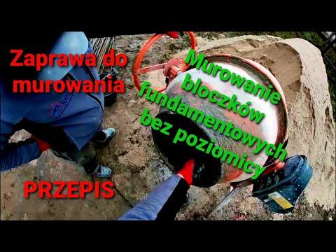 Download Zaprawa do murowania - PRZEPIS - Murowanie bloczków fundamentowych bez poziomicy