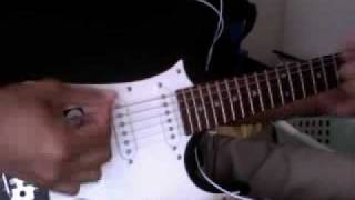 My interpretation of the main guitar riff in the song. How's it sound?