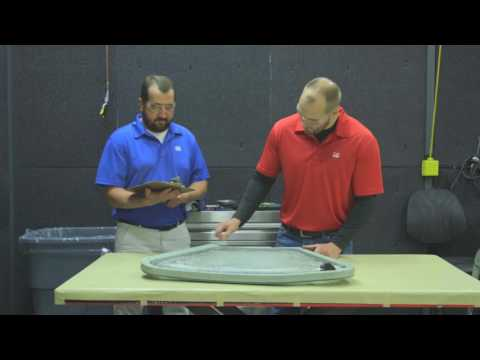 PPG A320 sliding side and aft window repair program
