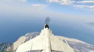 GTA 5 - Cách lấy 17 siêu máy bay (cực khủng) từ bản mod Menyoo