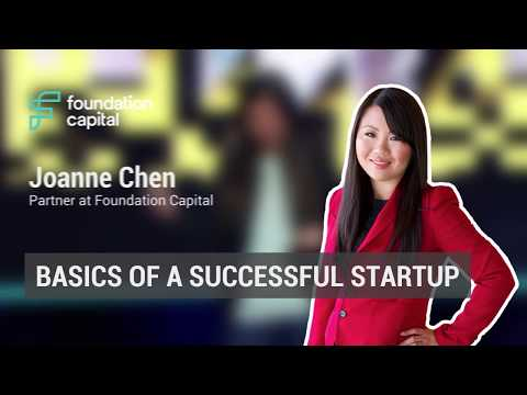 The basics of a successful startup | Foundation Capital's Joanne Chen @ amoCONF 2018
