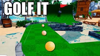 GOLF IT | 18 HOYOS DE AGUA!?