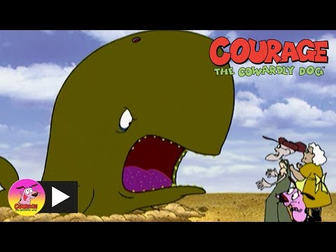 Courage The Cowardly Dog | Sand Whale | Cartoon Network