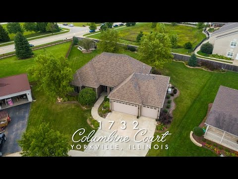 Welcome to 1732 Columbine Ct, Yorkville, IL 60560