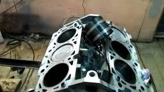 Крайслер 300с сборка двигателя
